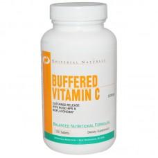 Buffered Vitamin С Universal Nutrition (100 табл)