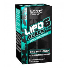 Lipo-6 Black Hers Ultra Concentrate Nutrex Research (60 капс)