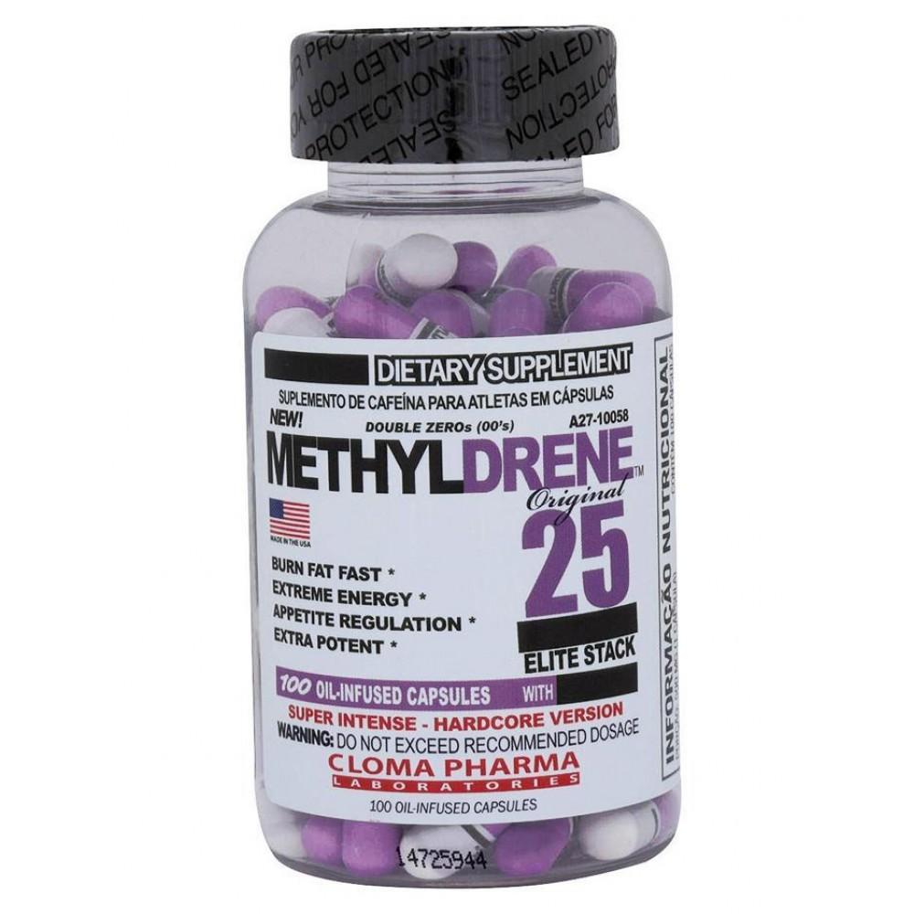 Жиросжигатель Methyldrene Elite Cloma Pharma (100 капс)