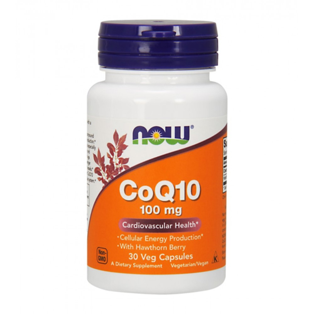 CoQ10 100 mg NOW (30 капс)