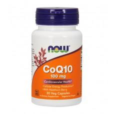 CoQ10 100 mg NOW (30 капс)
