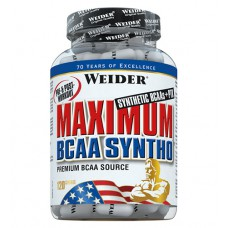 Maximum BCAA Syntho Weider (120 капс)