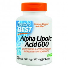 Best Alpha Lipoic Acid  Doctor's Best (60 капс)