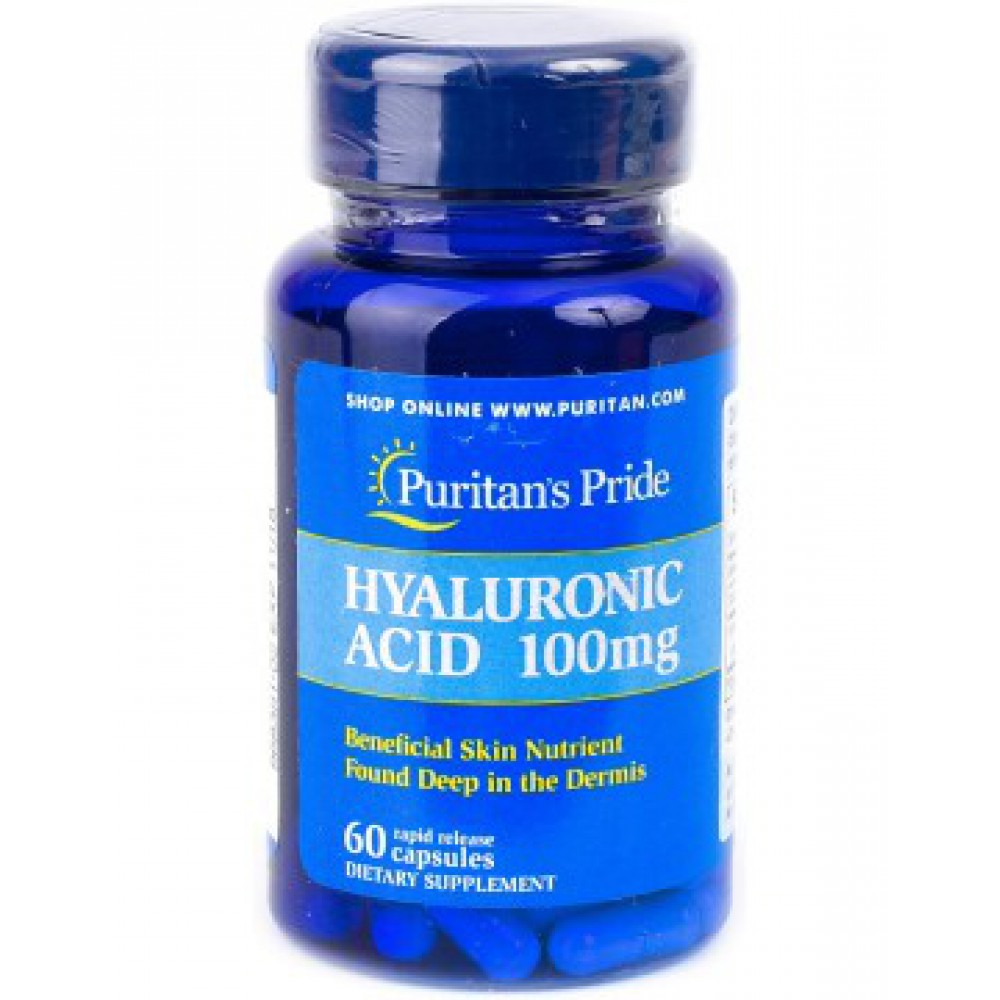 Hyaluronic Acid 100 mg 60capsules
