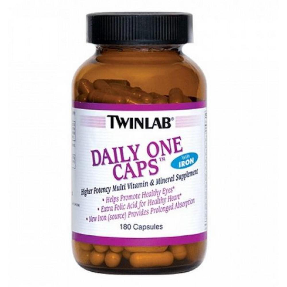 Витамины Daily One Caps Twinlab 180 капс