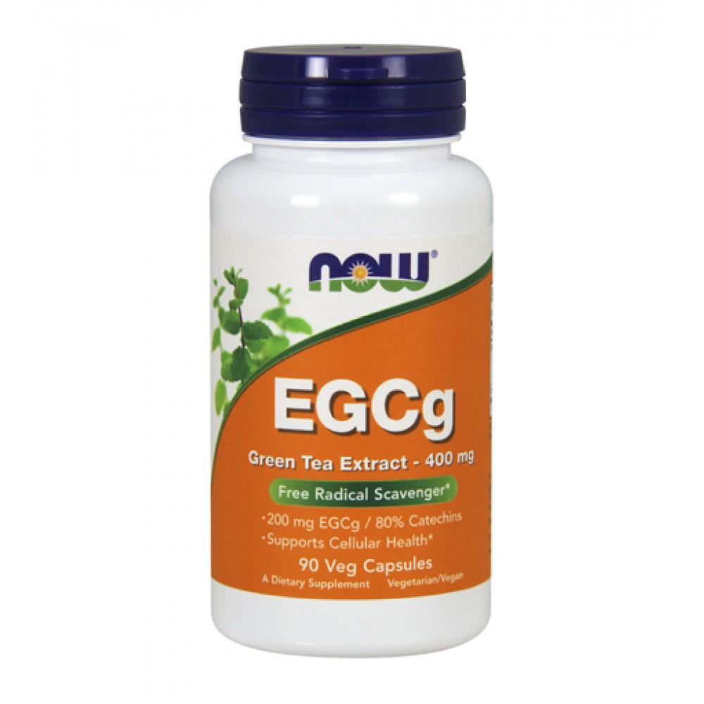 EGCg Green Tea Extract 400 mg NOW (90 капс)