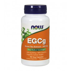 EGCg Green Tea Extract 400 mg NOW (90 капс)