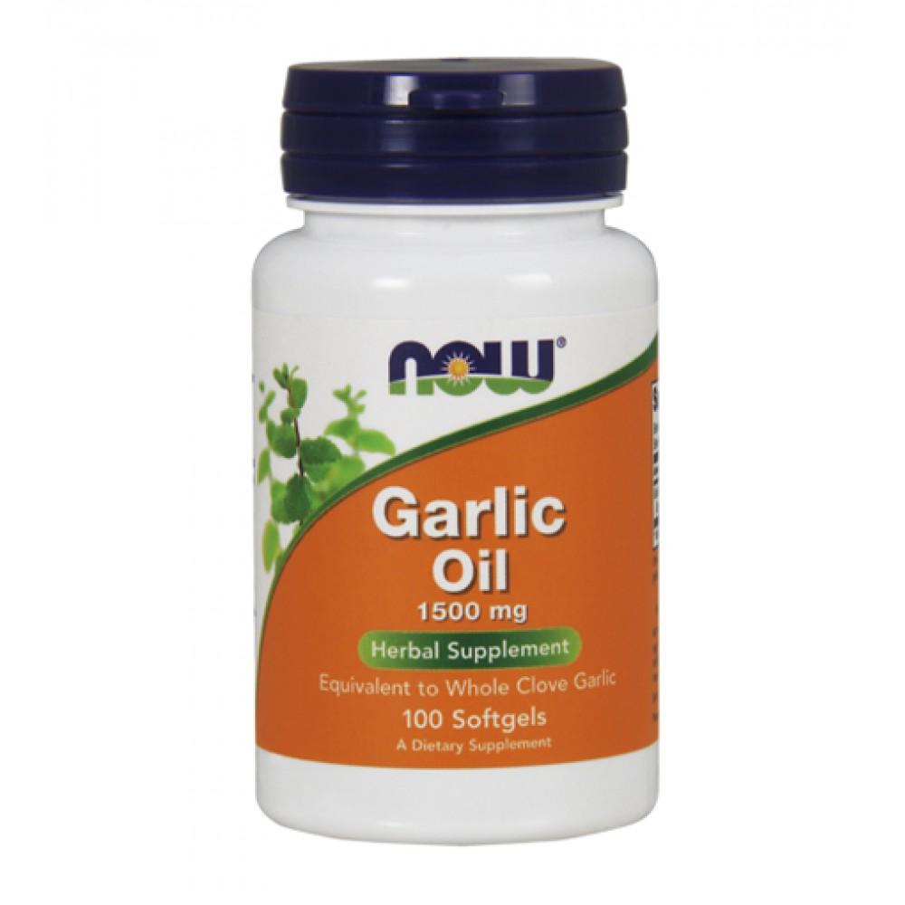 Garlic Oil NOW (100 капс)