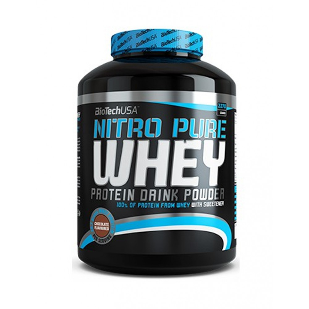 Протеин Nitro Pure Whey Gold BioTech USA (2270 г)