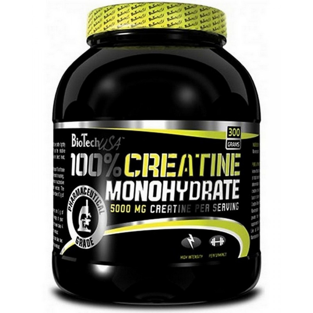 Креатин 100% Creatine Monohydrate BioTech USA (300 г)