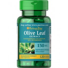 Olive Leaf Extract 150mg 120caps