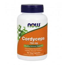 Cordyceps 750 mg NOW (90 капс)