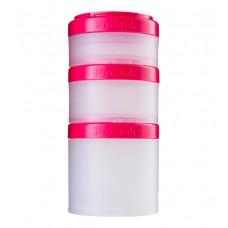 Контейнеры Expansion Pak Blender Bottle прозрачные-розовые