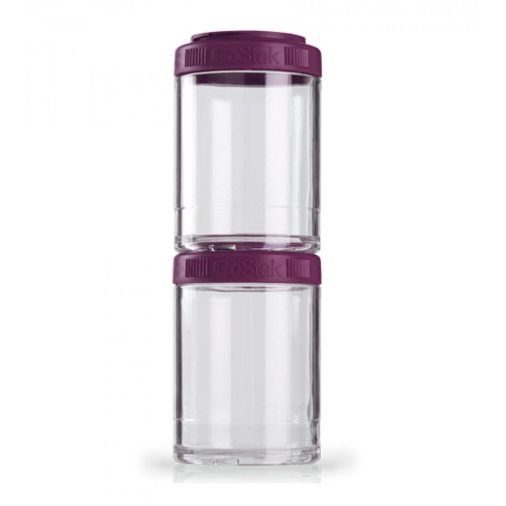 Контейнеры GoStak 2 Pak Blender Bottle фиолетовые (2 x 150 мл)