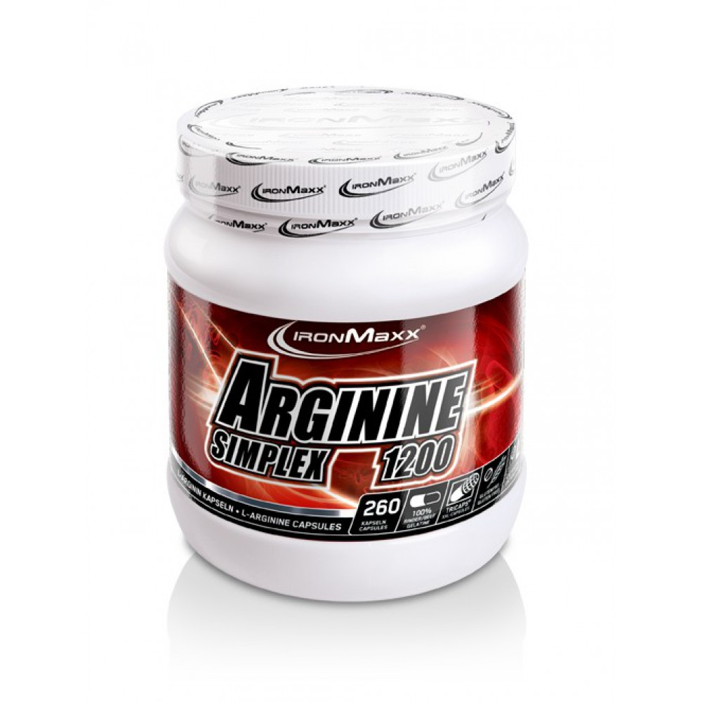 Arginin Simplex 1200 IronMaxx (260 капс)