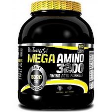Аминокислоты Mega Amino 3200 BioTech USA (300 табл.)
