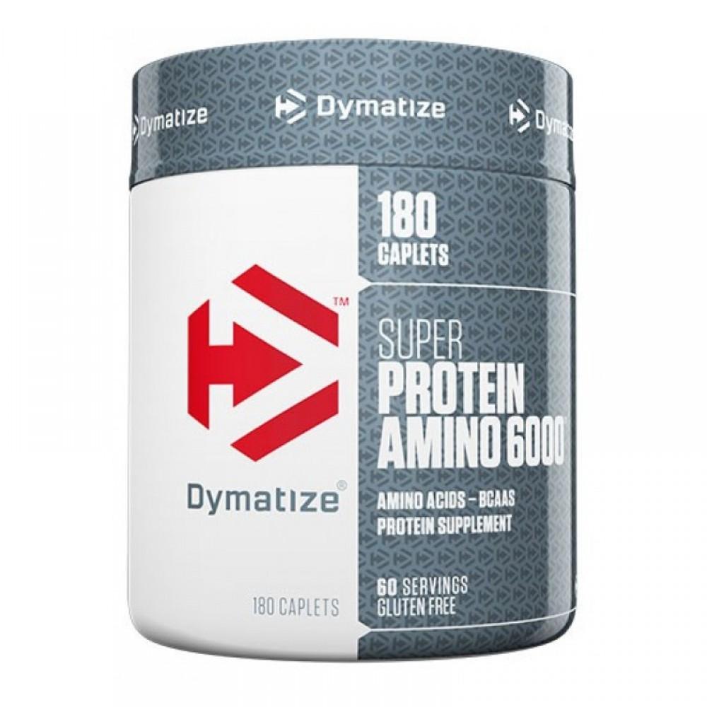 Super Amino 6000 Dymatize Nutrition (180 капс)