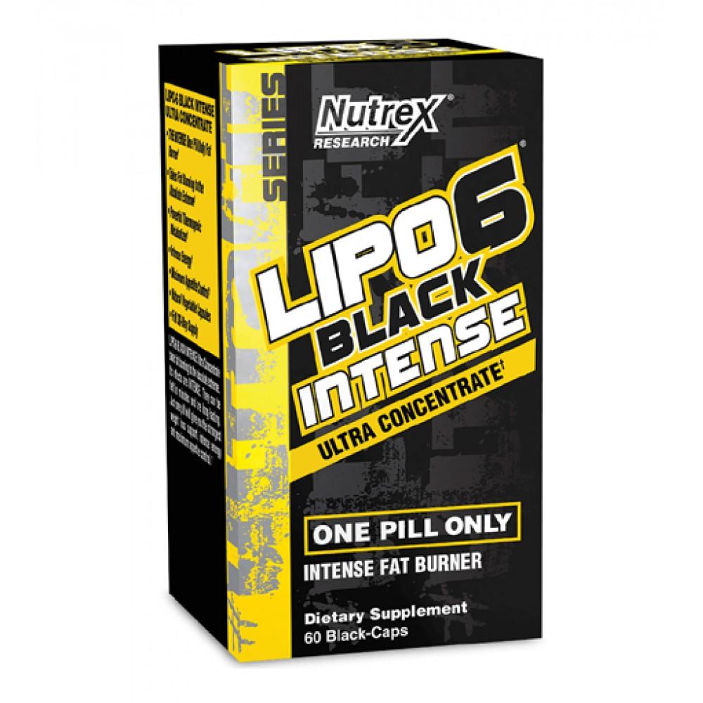 Lipo-6 Black Intense Nutrex Research (60 капс)
