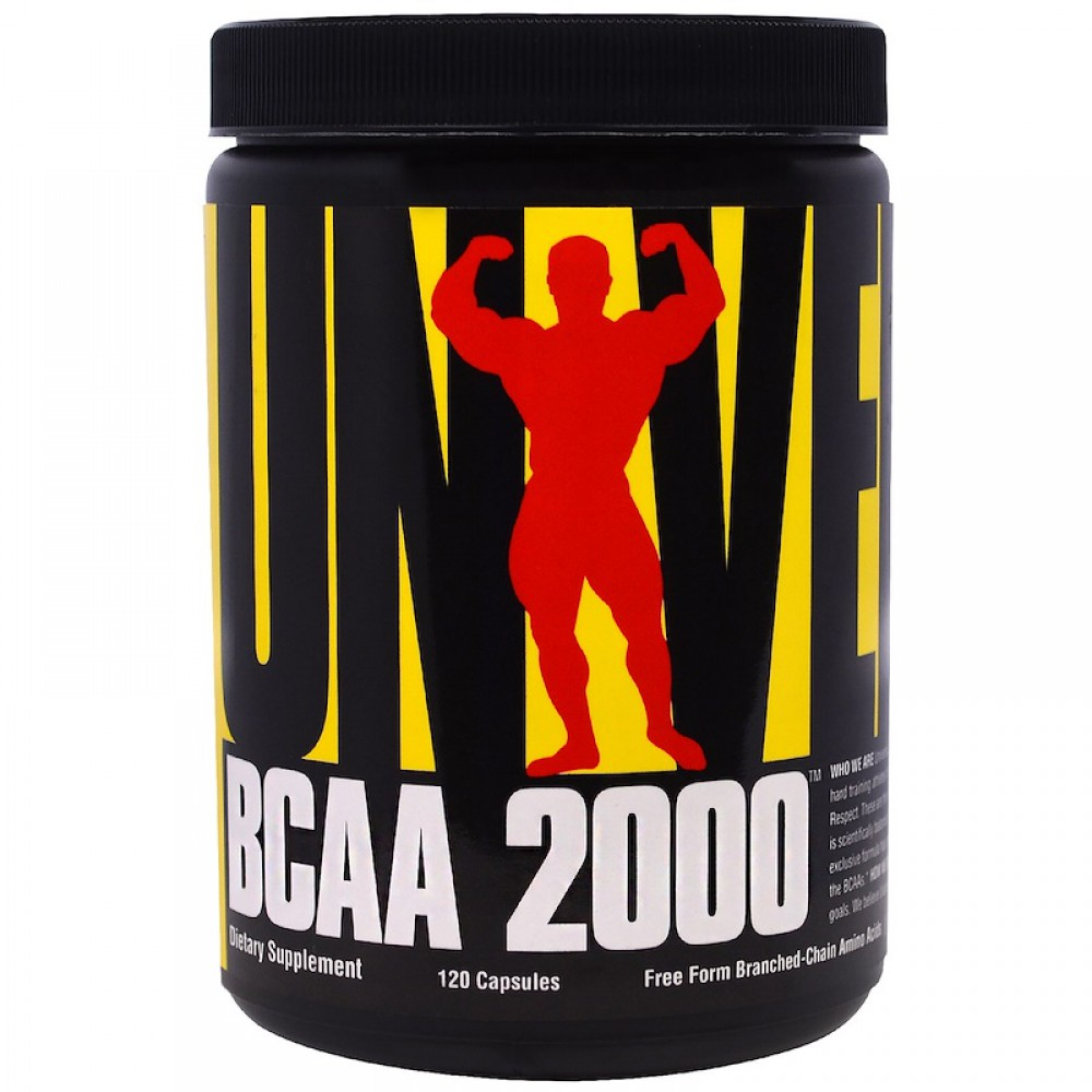 BCAA 2000 Universal Nutrition (120 капс)