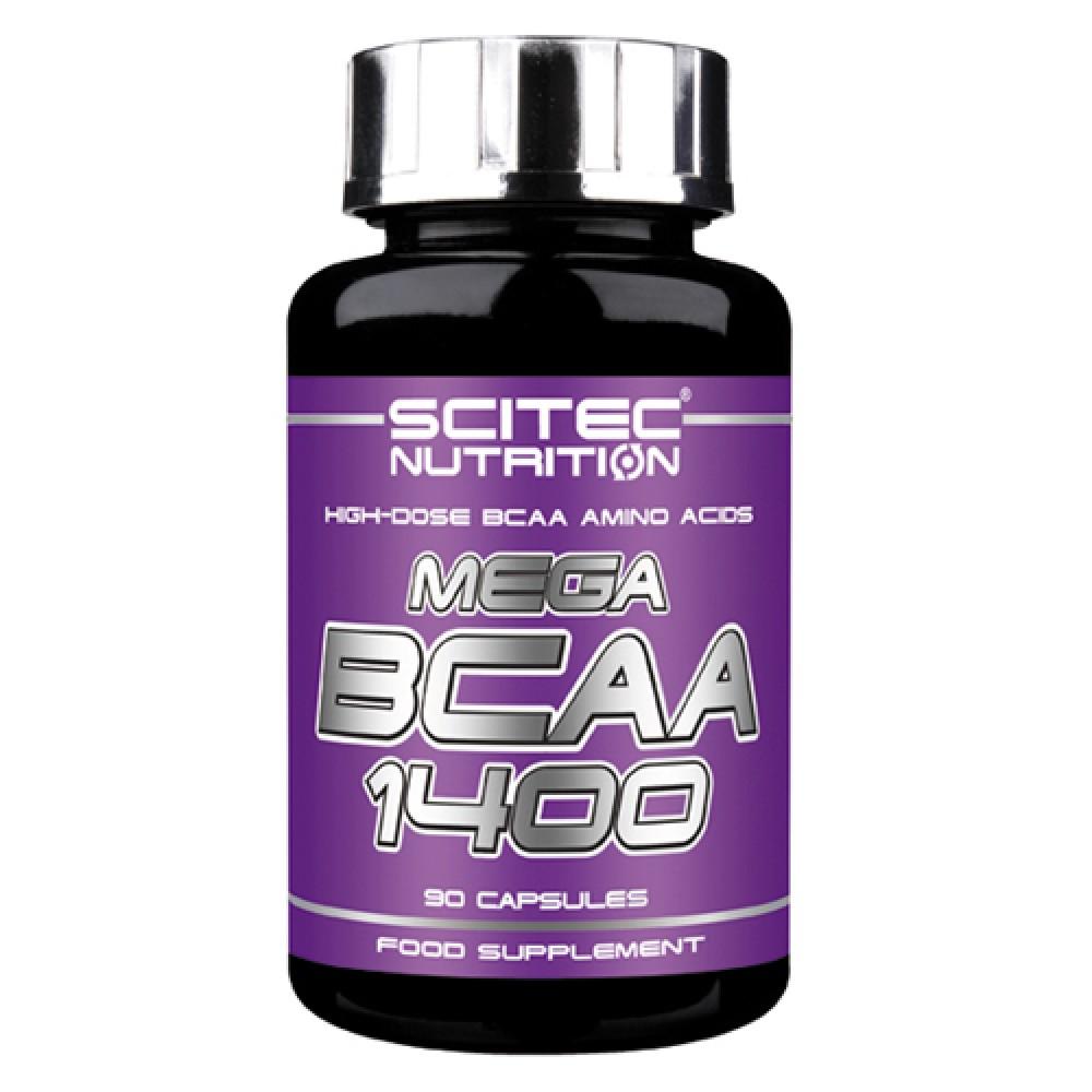 Mega BCAA 1400 Scitec Nutrition (90 капс)