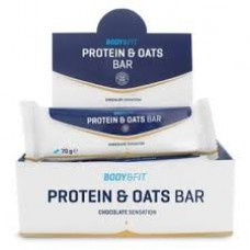 Батончик Protein & Oats Bars  Body and Fit (70 гр)