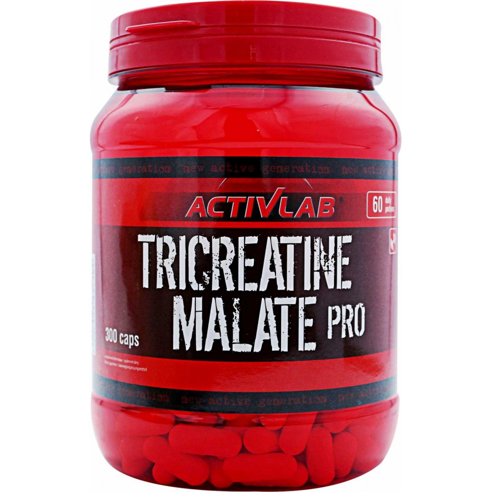Креатин Tricreatine Malate Pro Activlab (300 капс.)