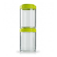 Контейнеры GoStak 2 Pak Blender Bottle зеленые (2 x 150 мл)