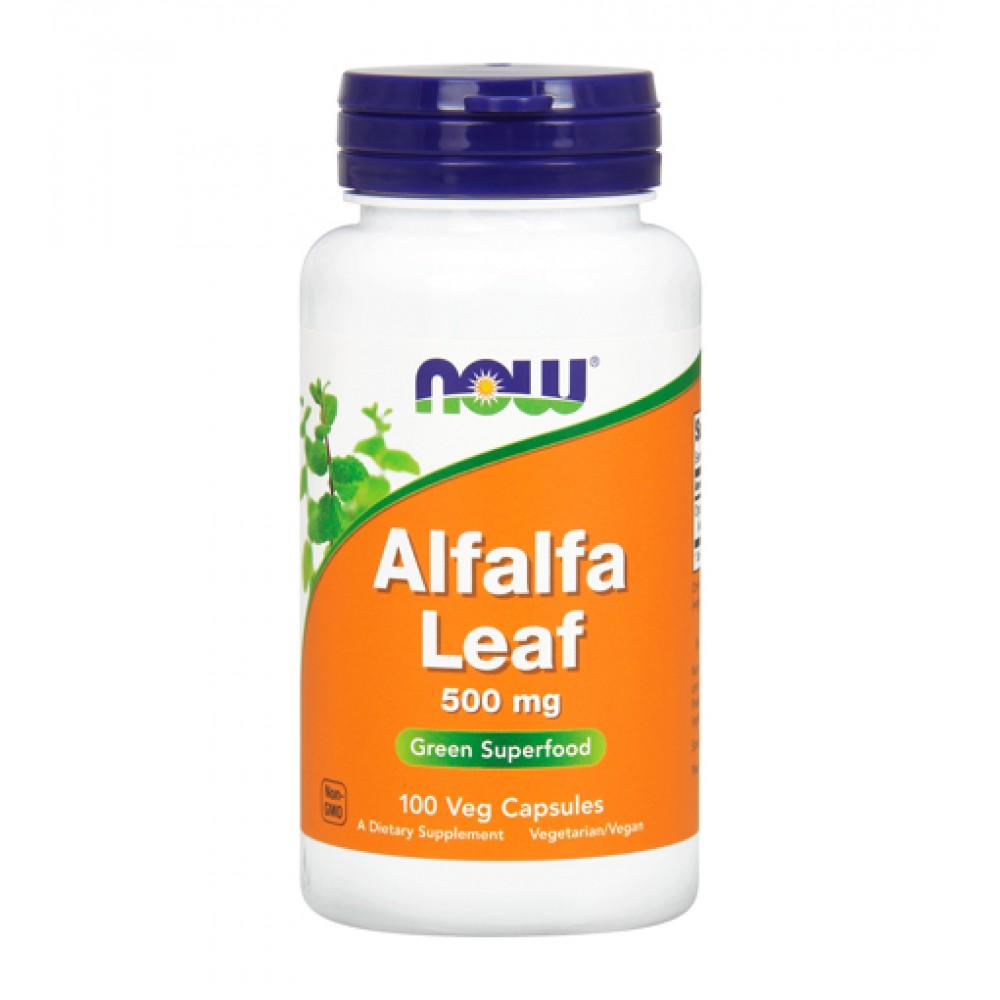 Alfalfa Leaf 500 mg NOW (100 капс)