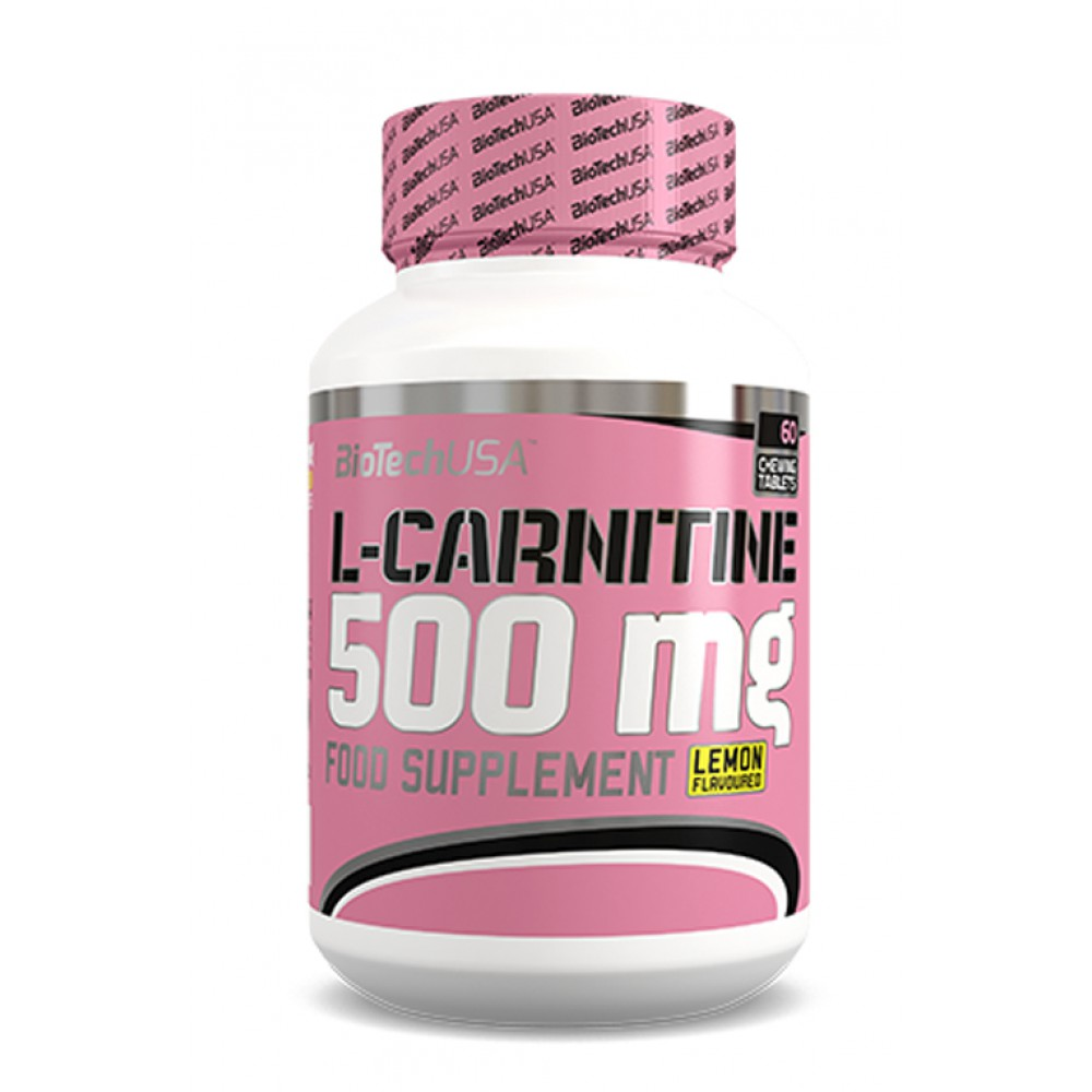 L-карнитин L-Carnitine 500 mg BioTech USA (60 жевательных табл.)