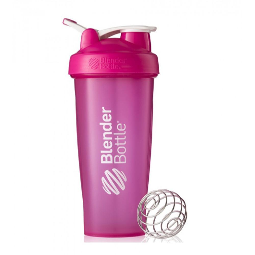 Шейкер Classic Loop Blender Bottle бело-розовый (820 мл)