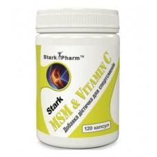 MSM Vitamin C Stark Pharm (120 капс)
