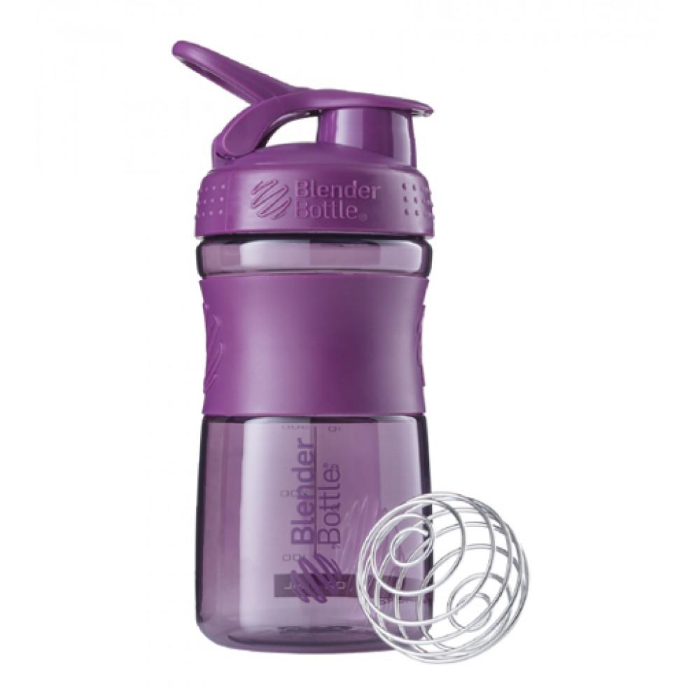 Бутылка Sportmixer Blender Bottle фиолетовая (600 мл)
