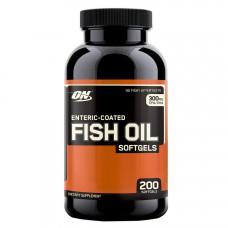 Fish Oil Softgels Optimum Nutrition (200 капс)
