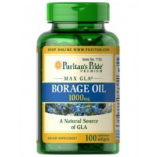 Borage Oil 1000mg 100caps