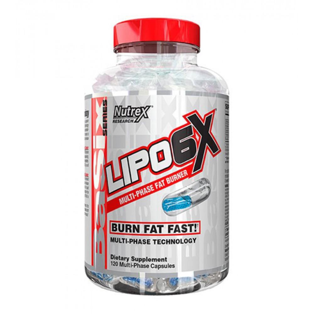 Lipo-6X Nutrex Research (120 капс)