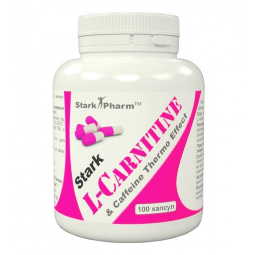 L-Carnitine & Caffeine Complex 560 мг Stark Pharm (100 капс)