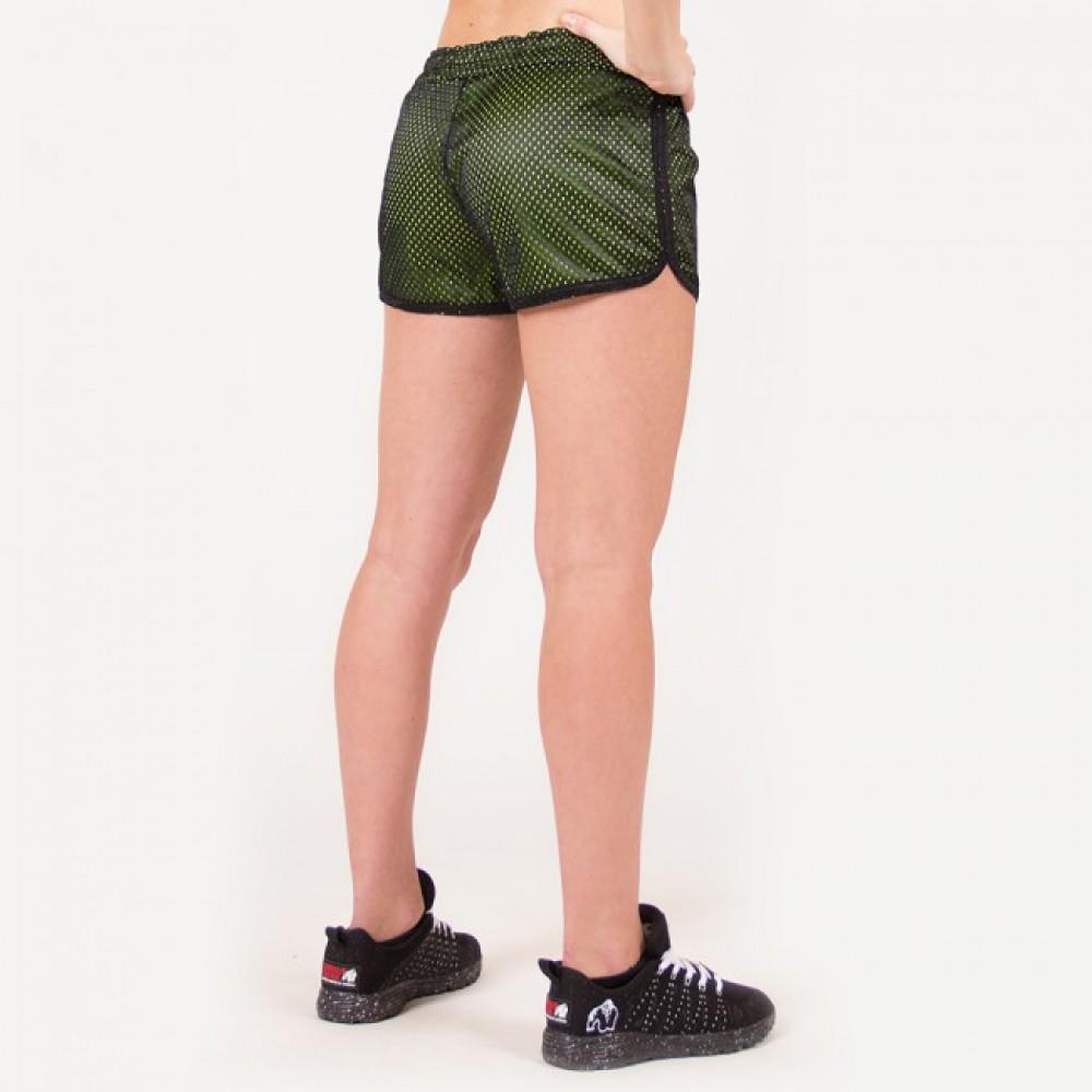 Шорты Madison Reversible Black Neon Lime