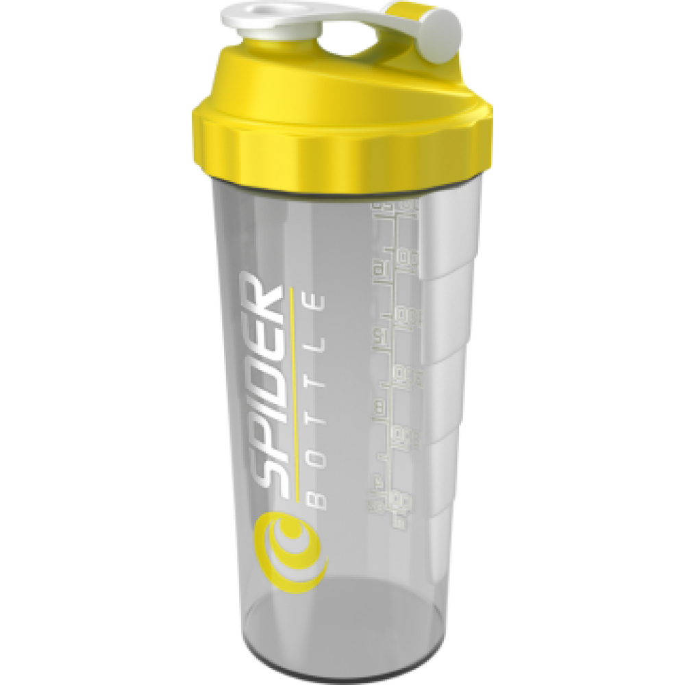 Spider Bottle MAXI Clear/Yellow Spider Bottle (800 мл)