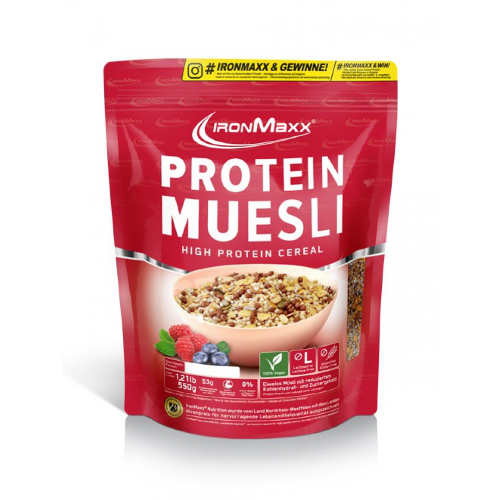 Protein Muesli IronMaxx (500 гр)