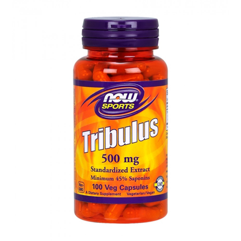 Tribulus 500 mg NOW (100 капс)