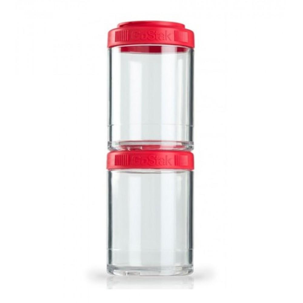 Контейнеры GoStak 2 Pak Blender Bottle красные (2 x 150 мл)