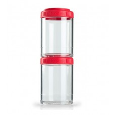Контейнеры GoStak 2 Pak Blender Bottle красные (2 x 150 мл)