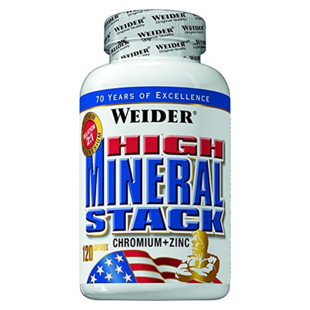 High Mineral Stack Weider (120 капс)