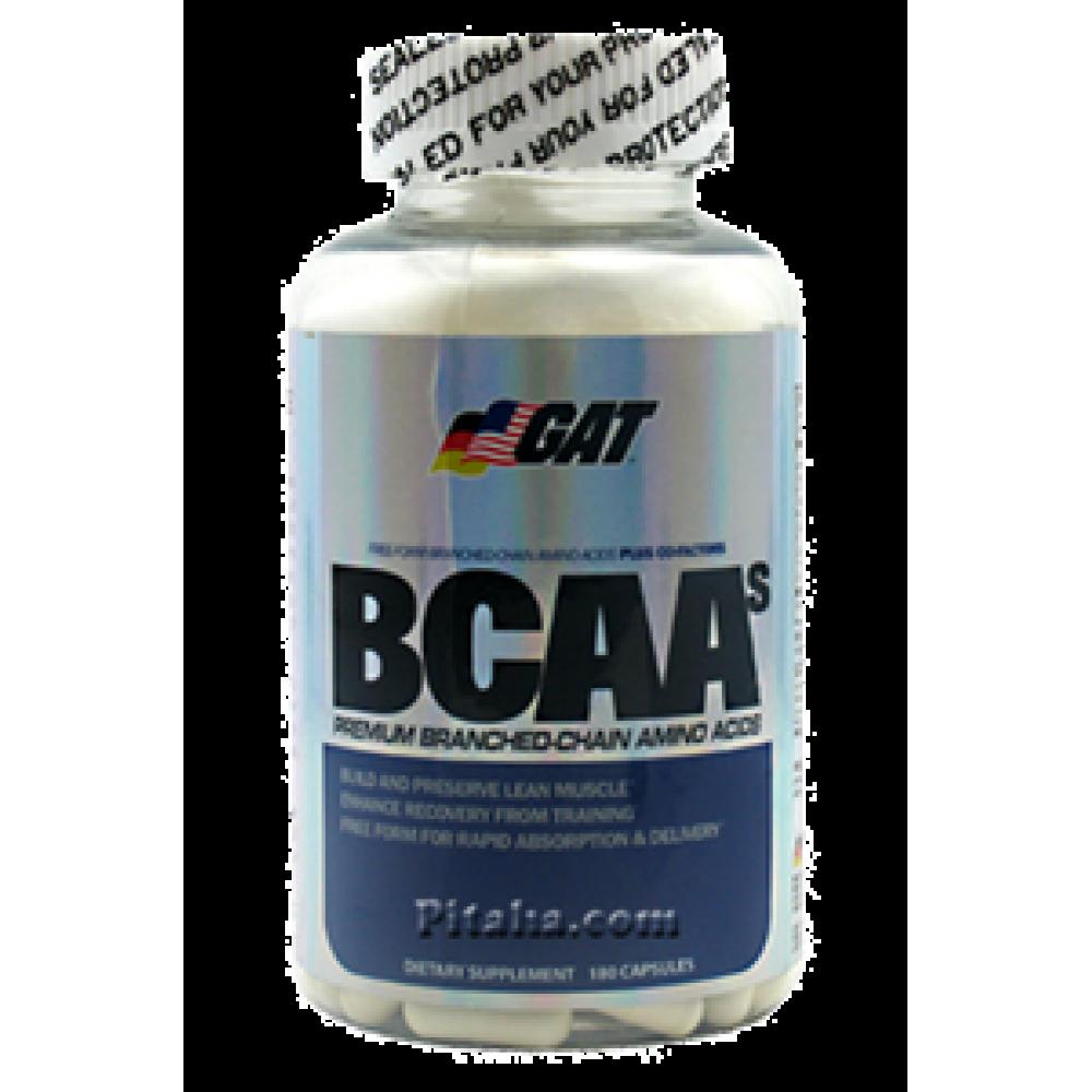 BCAAs GAT (180 капс.)
