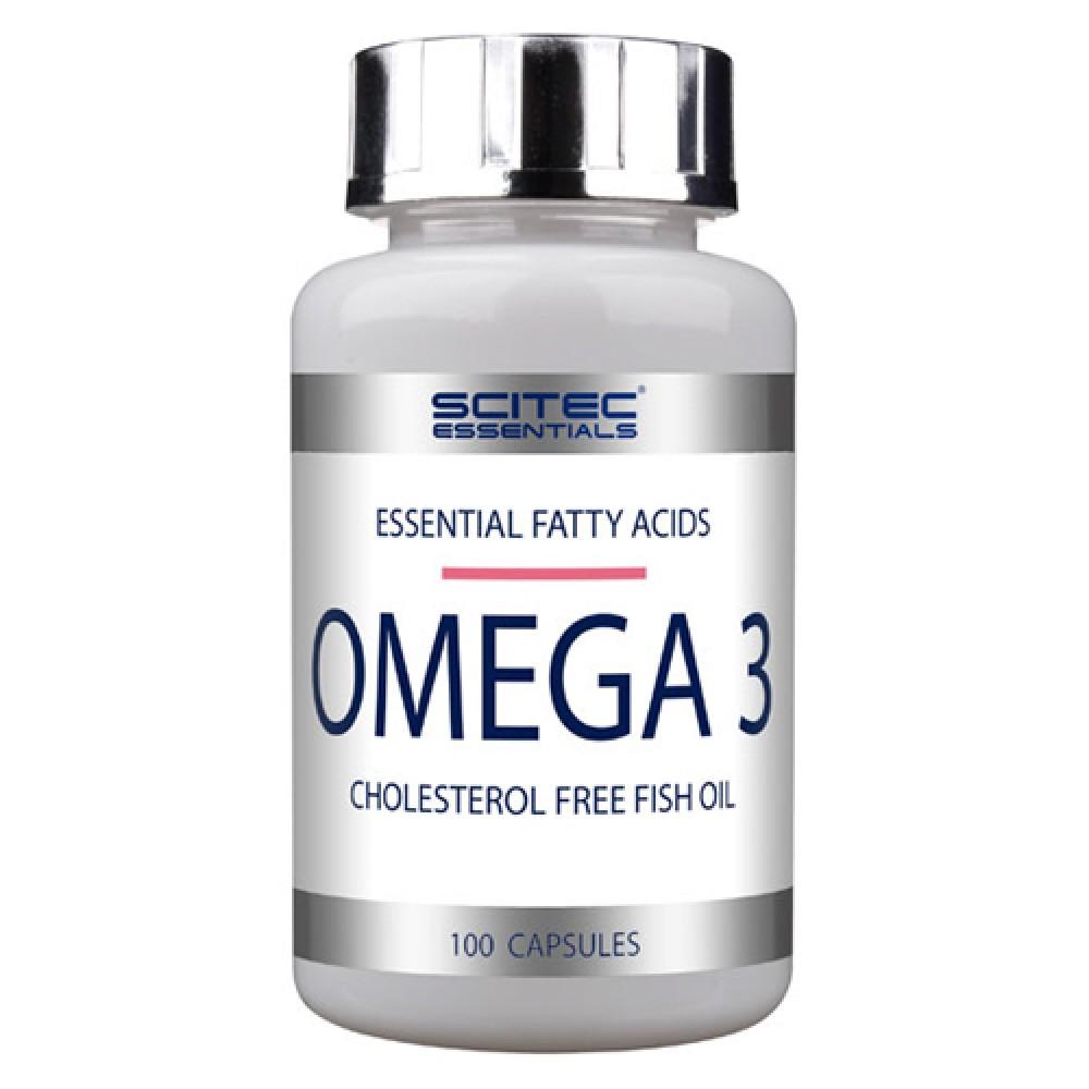 Omega 3 Scitec Essentials (100 капс)