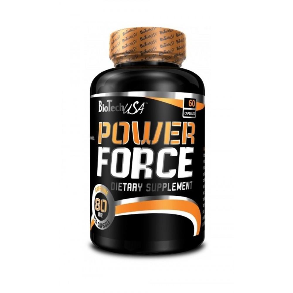 Энергетик Power Force BioTech USA (60 капс.)