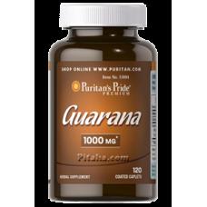 Guarana 1000 mg Puritans Pride (120 табл.)