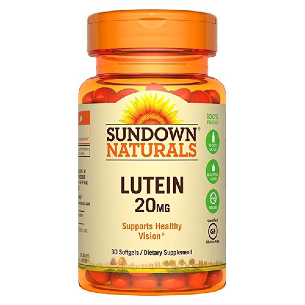Lutein Sundown Naturals (30 капс)