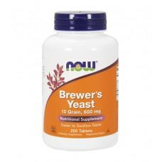 Brewer's Yeast 650 mg NOW (200 табл)