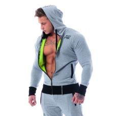 Куртка на молнии AW 107 Light Grey